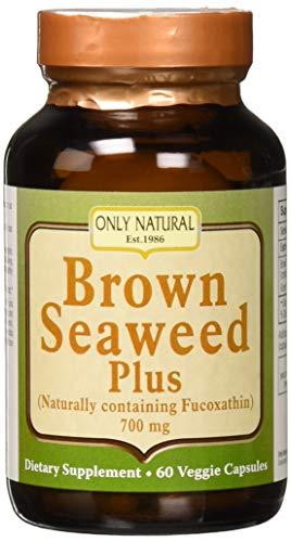 Only Natural Brown Seaweed Plus, 700mg (60 Veggie Caps)