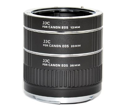 JJC AET-CS Auto Extension Tube Set (With..