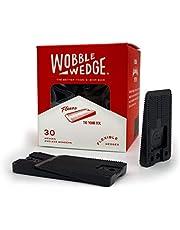 Wobble Wedge - Soft Black - Restaurant Table Shims - 30 Piece Jar