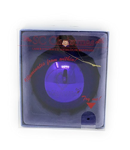 Baltimore Ravens SC Christmas Laser Engraved Heirloom Keepsake Ornament Raven Keepsake