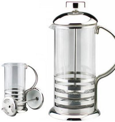 Kabalo 800ml / 8-cup Grande de acero inoxidable Cristal Cafetera ...