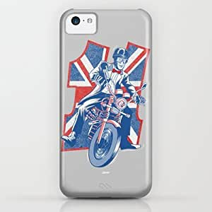 Who's Your Favourite Daredevil iPhone & iphone 5c Case by Gimetzco's Damaged Goods