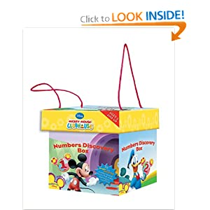 Mickey Mouse Clubhouse Numbers Discovery Box Disney Book Group