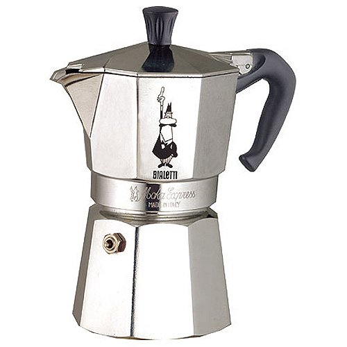 Bialetti Espressokocher Moka Express fü r 4 Espressotassen