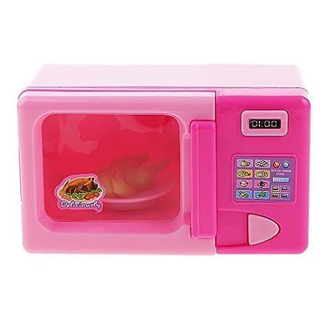 Soccik - Casa de muñecas para microondas, accesorio de cocina ...