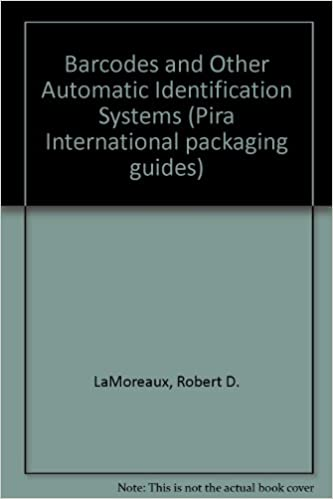 Livres en anglais à téléchargerBarcodes and Other Automatic Identification Systems (Pira International packaging guides) CHM