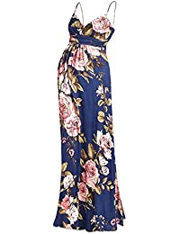 Women's Maternity Sweetheart Party Maxi Dress