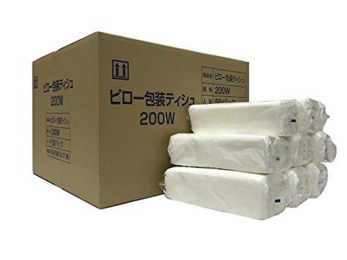 太洋紙業株式会社 詰替え用ティッシュペーパー(200組400枚) 50個 3262