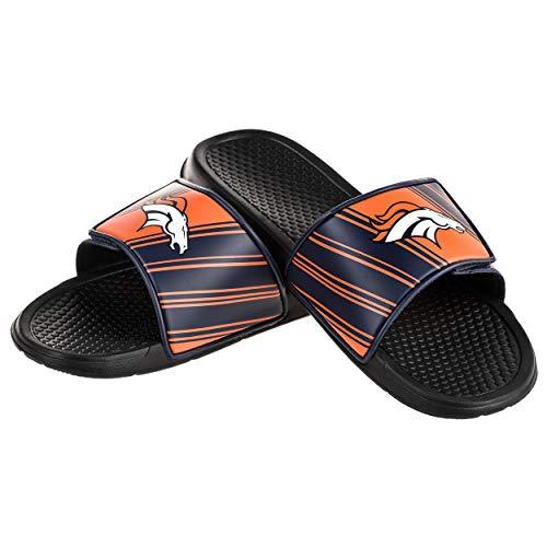 NFL Mens Legacy Sport Slide (Denver Broncos Fan Gear)