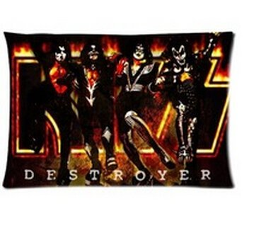 Pillow Band (Kiss Band Pillowcases Custom 20