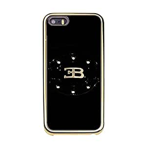 Classical Luxury Bugatti Style Mobile Case TPU Golden Border series for Iphone 5/5s