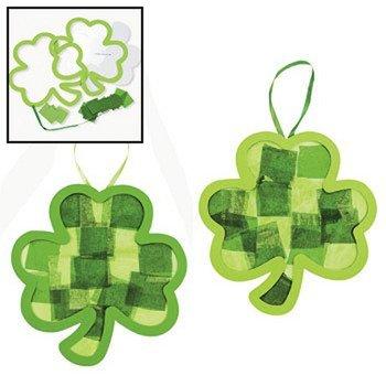 Tissue Paper Shamrock Craft Kit – Crafts for Kids & Decoration Crafts