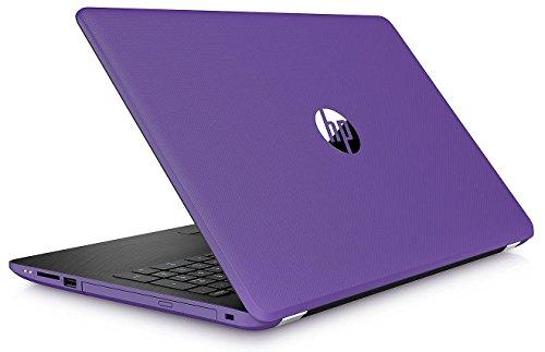 "2018 HP Premium High Performance 15.6"" HD Touchscreen Laptop, AMD A9-9420 Processor (up to 3.6 GHz), 8GB RAM, 2TB HDD, DVD Burner, 802.11AC Wi-Fi, Bluetooth, HD Webcam, Windows 10 (Amethyst Purple) ()"