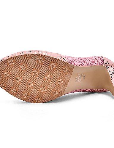GGX/Damen Heels Heels/Schuhe Glitzer/Individuelle Materialien Hochzeit/Party & Abend/Kleid Stiletto-Absatz golden-us6.5-7 / eu37 / uk4.5-5 / cn37