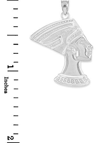 10 ct 471/1000 Or Blanc KonigEn Nofretete- Pendentif