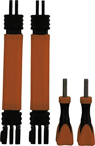 Rollei Actioncam Verlängerung Größe S - Zwei verformbare Verlängerungsstücke für eine flexible Befestigung von Actioncams von Rollei und von GoPro