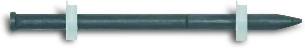 Powers Fastening Innovations 50790 Forming Pin 62-Millimeter 2-1-2-Inch Length 0.181 Head 0.145 Shank Diameter, 100 Per Box
