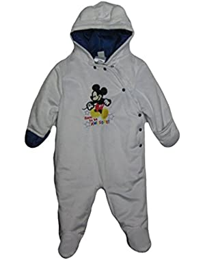 Baby-Boys Newborn Mickey Born To Be Awesome Pram
