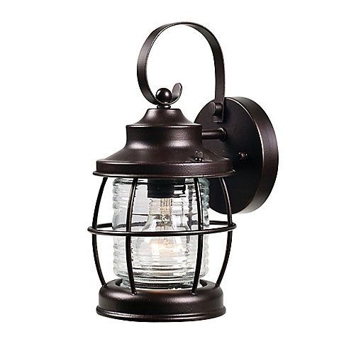 Outdoor Lantern String Lights Bronze - 6