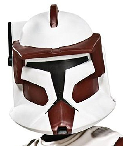 Star Wars Clone Wars Deluxe Commander Fox Clone Trooper Child 2-pc Costume Mask