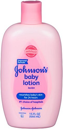 Johnsons Baby Powder Ingredients (Johnson's Baby Lotion, 15-Ounce Bottle (Pack of 2))