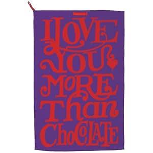 Emma Bridgewater I Love Chocolate Tea Towel