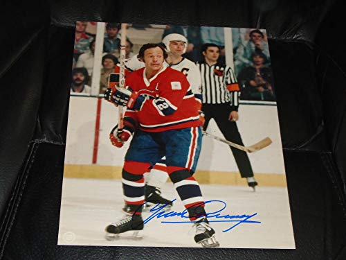 YVAN COURNOYER MONTREAL CANADIENS HALL OF FAMER 8X10 SIGNED AUTOGRAPHED PICTURE 100 AUTHENTIC ()