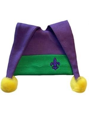 Jacqui's Unisex Baby Floppy Mardi Gras Hat