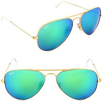 fe9d4e367 Ray-Ban Aviator Unisex Sunglasses - 3025,112/19/58: Amazon.ae: delma ...