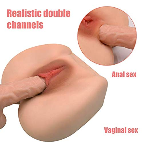 3D Realistic LifesizeTPE Dolls for Men Male Lifelike Female Silicone Torso Love Doles for Man Funny Adult Toy Fleshlike by TVS (Image #5)