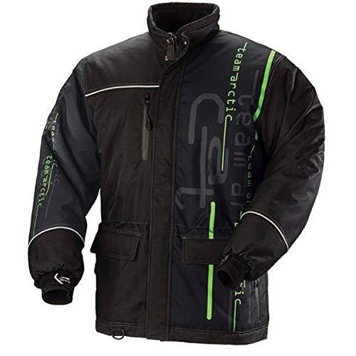 Arctic Cat New OEM Tactic Advantage Coat, M, Black w/Green, 5260-042
