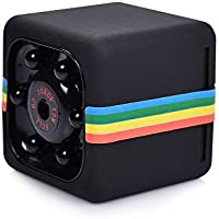 Mini Spy Hidden Camera Night Vision Portable Sport Video Camera, TV-OUT Digital Video Camcorder Supports Motion Detection, Nanny Cam