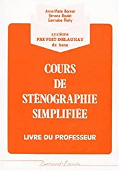 Corrige stenographie simpl.(orang) (French Edition)