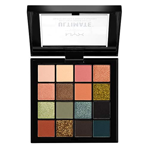 NYX PROFESSIONAL MAKEUP Ultimate Shadow Palette, Eyeshadow Palette, Utopia