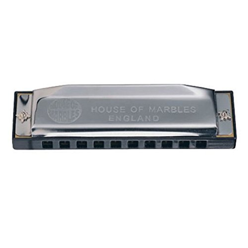 House of Marbles Marvellous Metal Harmonica Musical Instrument
