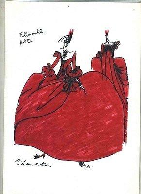 Chez Vous Menu Scottsdale Arizona Air France Marc Bohan Opera Costume Cover