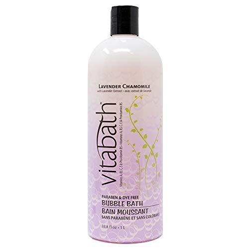Vitabath Bubble Bath, Lavender Chamomile, 33.8 Fluid Ounce