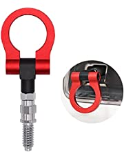 Car Refitted Front Rear Bumper Trailer Ring Eye Towing Tow Hook Kit Compatible with BMW 1 3 5 Series