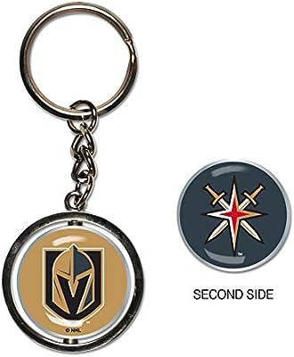 Amazon.com: Vegas dorado caballeros llavero Spinner estilo ...