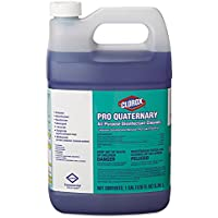 Clorox 30423 Pro Quaternary All-Purpose Disinfectant Cleaner, 128 oz Bottle (Case of 2)