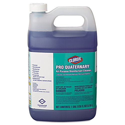 clorox-clo-30423-pro-quaternary-all-purpose-disinfectant-cleaner-128-oz-bottle-pack-of-2