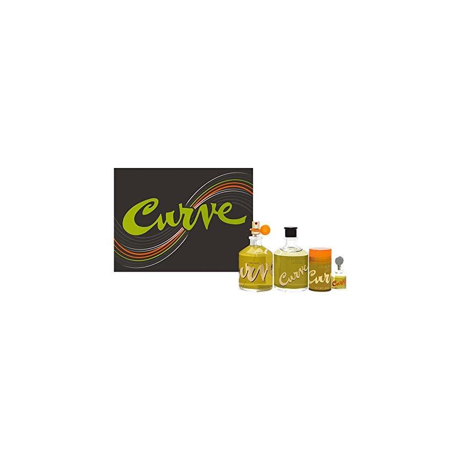 Curve by Liz Claiborne for Men 4 Piece Set