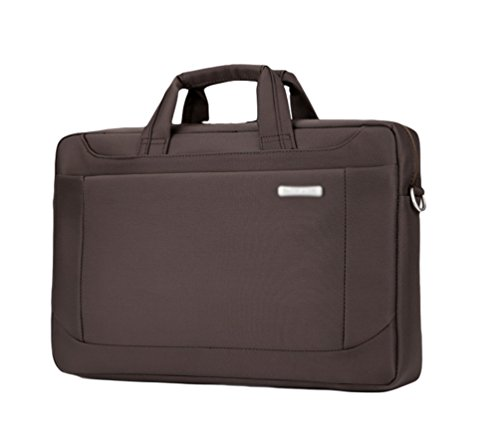 Case Brown Sunwanyi Shoulder Messenger Briefcase Computer Laptop 2 Bag fSUYqZx