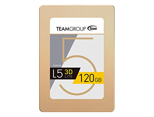 Team Group L5 LITE 3D 2.5 120GB SATA III 3D NAND Internal Solid State Drive (SSD) T253TD120G3C101