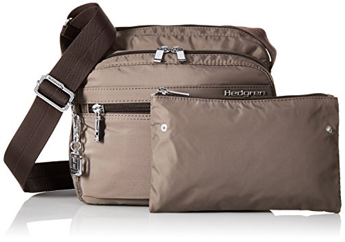 Tablet x Inches Metro Key Hedgren Brown Organizer 4 x and Brown Women's City Panel 8 Sepia Bag Padded Phone Crossbody Sepia with 4 Pocket Leash Inner 9 qBntBvUPw