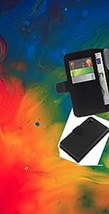 JackGot ( Psicodélico del arco iris del tinte ) Sony Xperia Z3 D6603 la tarjeta de Crédito Slots PU Funda de cuero Monedero caso cubierta de piel