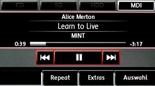 Bluetooth Audio Interface Für Vw Und Audi Mit Titellisten Auto