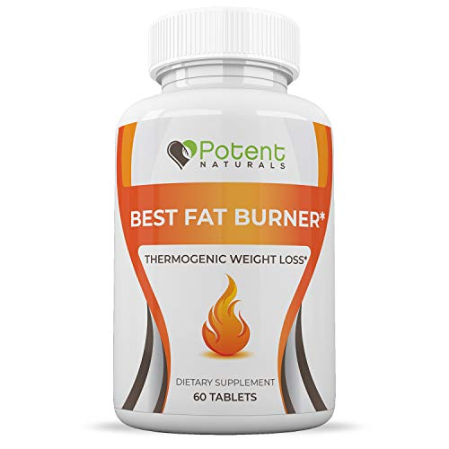 Best Fat Burner for Men and Women - Promotes Healthy Weight Loss - Loss Unwanted Pounds - Burn Fat Fast - Natural Ingredients to Boost Metabolism - One-Month Supply Dietary Supplement - 60 Tablets ()