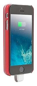 Unotec Funda Batería Magnética Para iPhone 5/5S Roja