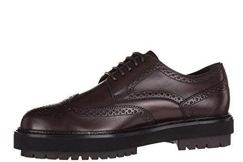 Tod's clásico zapatos de cordones hombres en piel nuevo derby bucature fashion e
